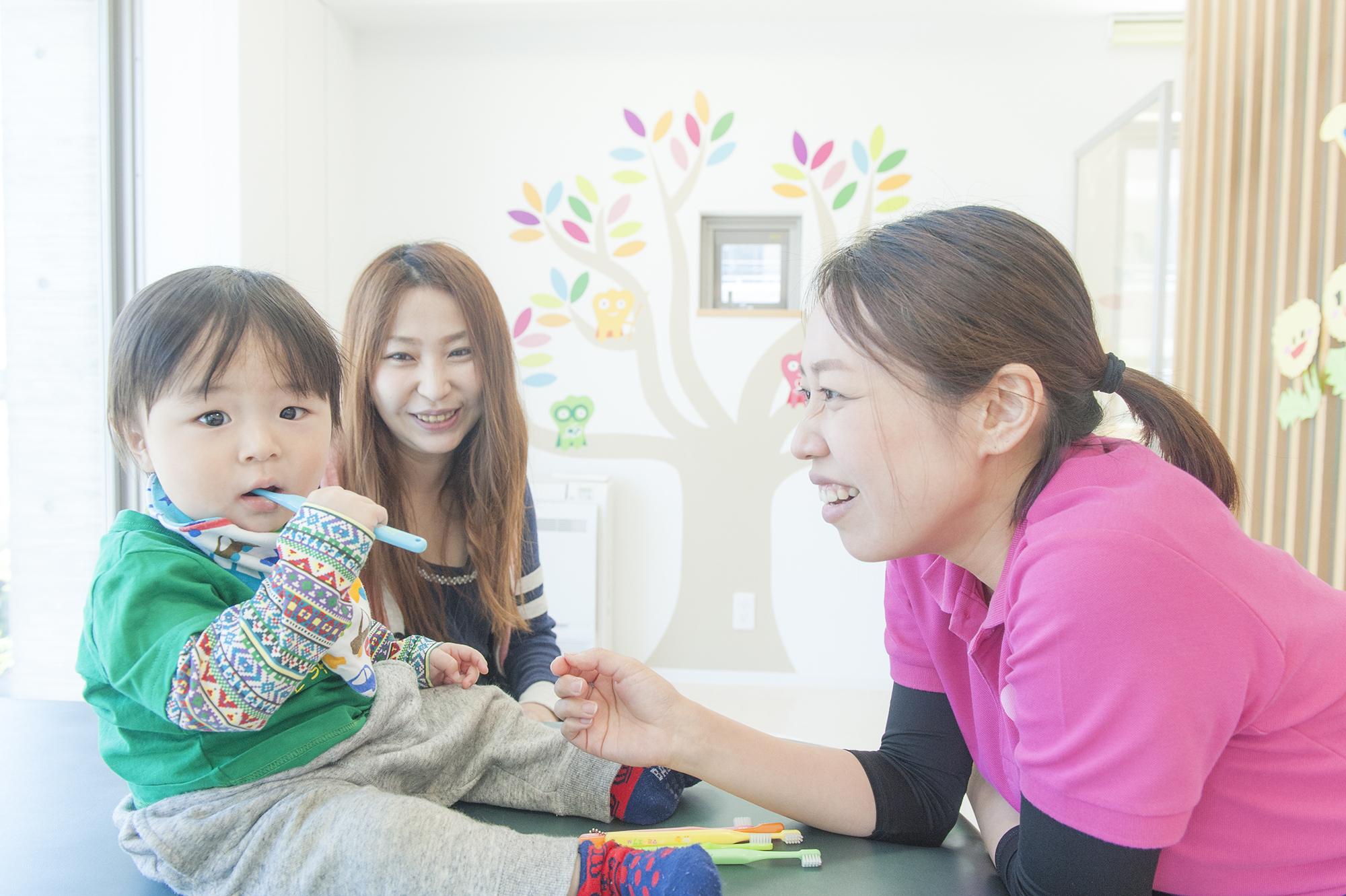 親子で始めるゼロ才からの歯の予防